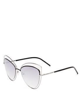 MARC JACOBS - Women's Floating Cat Eye Sunglasses, 56mm