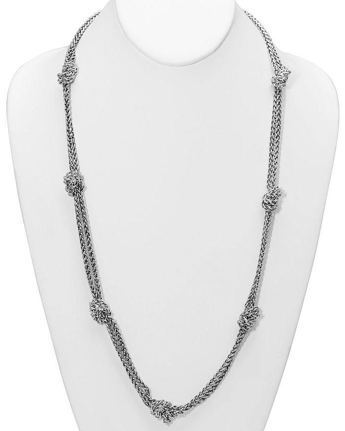 "Ralph Lauren - Knot Station Necklace, 34"""
