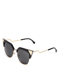 Fendi - Women's Iridia Cat Eye Sunglasses, 54mm