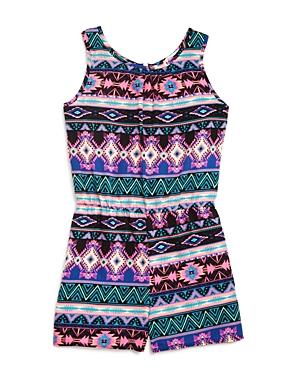Pinc Premium Girls' Tribal Print Romper - Sizes S-xl