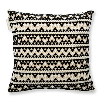 "Madura - Backgammon Decorative Pillow Cover, 16"" x 16"""