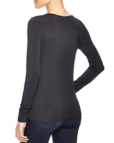 Elie Tahari - Netta Scoop Neck Tee