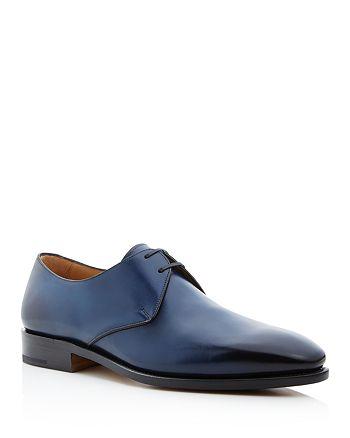 Salvatore Ferragamo - Tramezza Ombré Leather Plain Toe Derbys