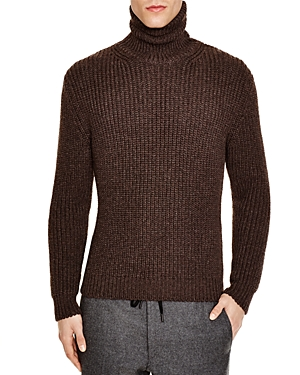 Z Zegna Purl Stitch Slim Fit Turtleneck Sweater - 100% Exclusive