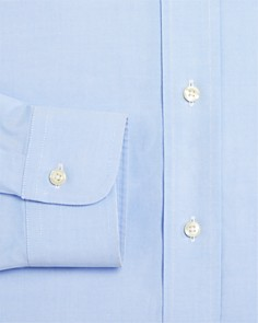 Brooks Brothers - Pinpoint Non-Iron Classic Fit Button-Down Dress Shirt