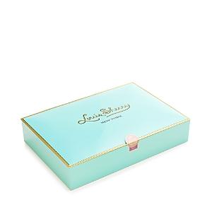 Louis Sherry Nile Blue Chocolate Truffle Box, 12 Piece