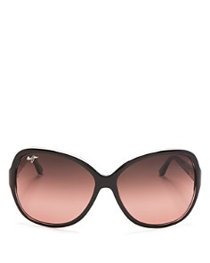 Maui Jim - Women's Maile Round Sunglasses, 60mm