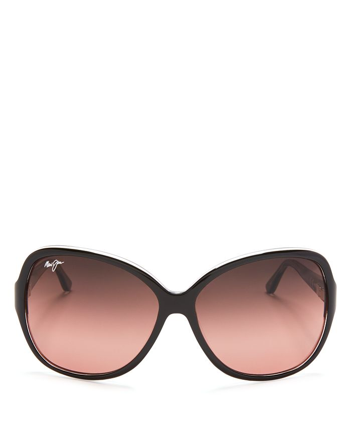 Maui Jim - Women's Maile Polarized Round Sunglasses, 60mm