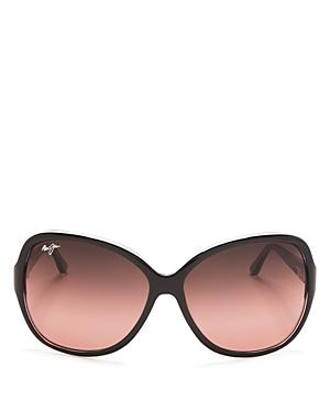 Maui Jim Women\\\'s Maile Polarized Round Sunglasses, 60mm-Jewelry & Accessories