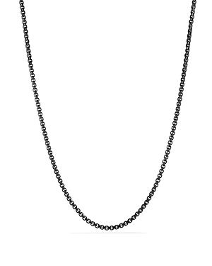 David Yurman Box Chain Necklace, 22