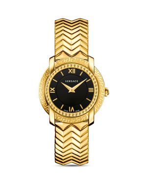 Versace DV25 Zigzag Bracelet Watch, 36mm