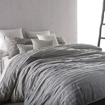 DKNY - Loft Stripe Grey Duvet Cover, King