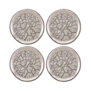 Michael Wainwright Tempio Luna Gold Canape Plate, Set of 4