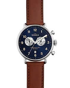 Shinola - The Canfield Chronograph Watch, 43mm