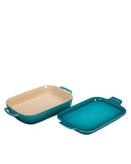 Le Creuset - Rectangular Dish with Platter Lid