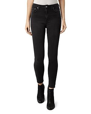 Allsaints Stilt Skinny Jeans in Dark Grey