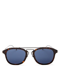 Dior - Men's Double Bar Square Sunglasses, 52mm