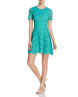 Finity Lace Fit and Flare Dress