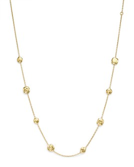 "IPPOLITA - 18K Yellow Gold Glamazon Pinball Short Station Necklace, 16"""