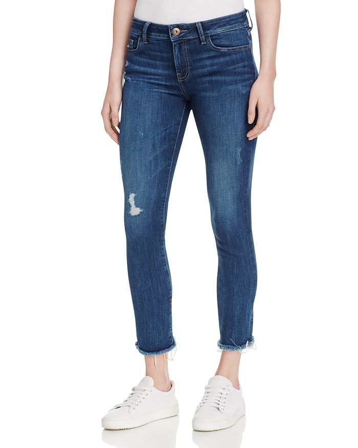 DL1961 - Mara Instasculpt Ankle Straight Jeans in Ravine