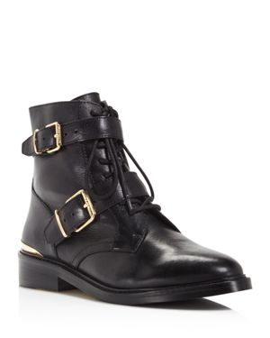 Vince Camuto Tokode Lace Up Combat Booties - 100% Exclusive