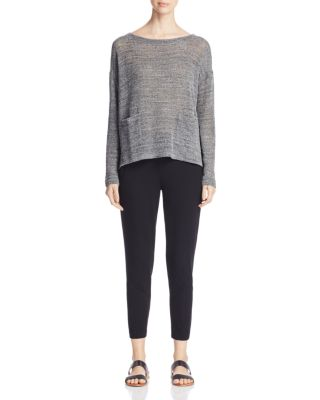Slim Ankle Slouchy Pants