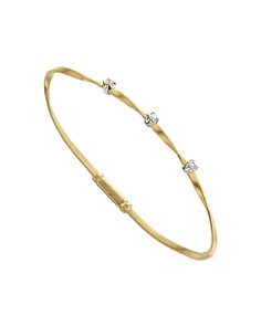 Marco Bicego - Marrakech Bracelet in 18K Yellow Gold with Diamonds