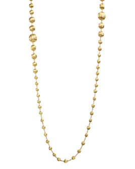 """Marco Bicego - 18K Yellow Gold Africa Bead Necklace, 36"""""""