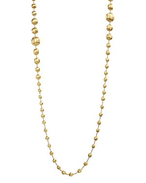 Marco Bicego 18K Yellow Gold Africa Bead Necklace, 36