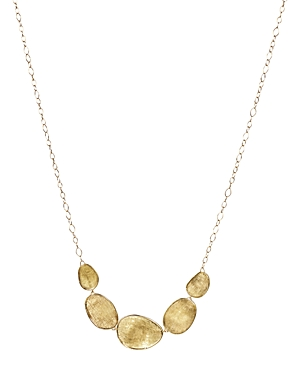Click here for Marco Bicego 18K Yellow Gold Lunaria Half Collar N... prices