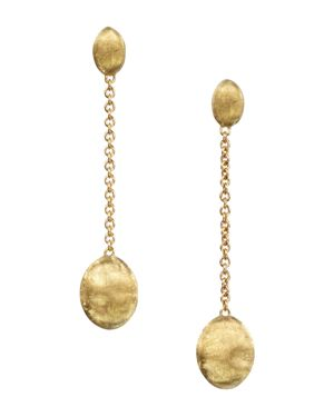 Marco Bicego Siviglia Collection Gold Drop Earrings