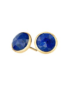 Marco Bicego - 18K Yellow Gold Lapis Stud Earrings