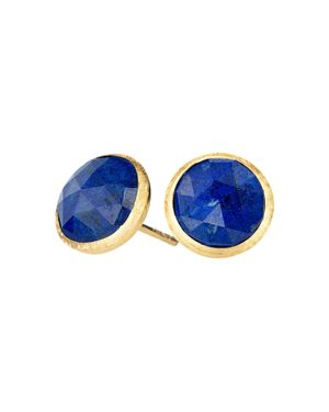Marco Bicego 18K Yellow Gold Lapis Stud Earrings