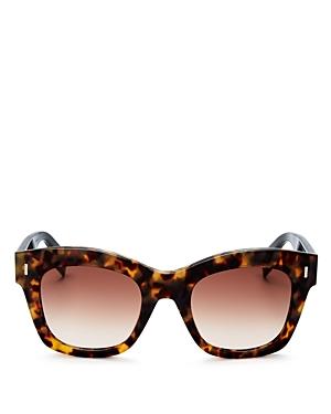 Fendi Vintage Flash Square Sunglasses, 50mm