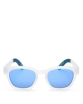1fe35b11f558 TOMS - Women's Traveler Bowery Mirrored Wayfarer Square Sunglasses, ...