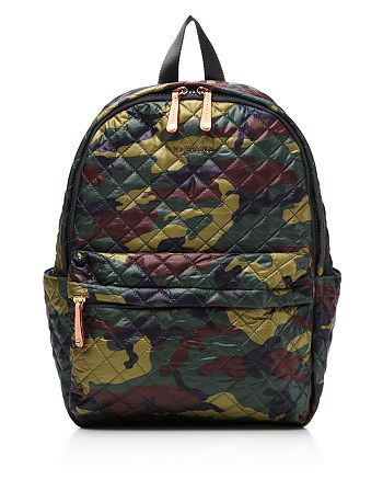MZ WALLACE - Oxford Metro Camo Print Backpack