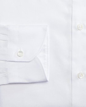Canali - Solid Regular Fit Dress Shirt