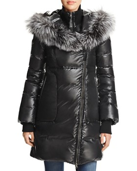 Mackage - Lizette Fox Fur Trim Down Coat - 100% Exclusive