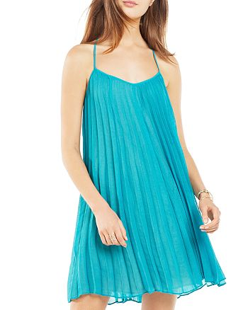 BCBGMAXAZRIA - Giselle Pleated Cami Dress