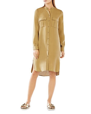 Bcbgmaxazria Maddox Silk Shirt Dress