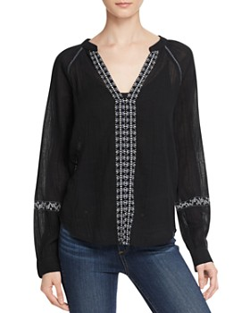 PAIGE - Sonya Embroidered Blouse
