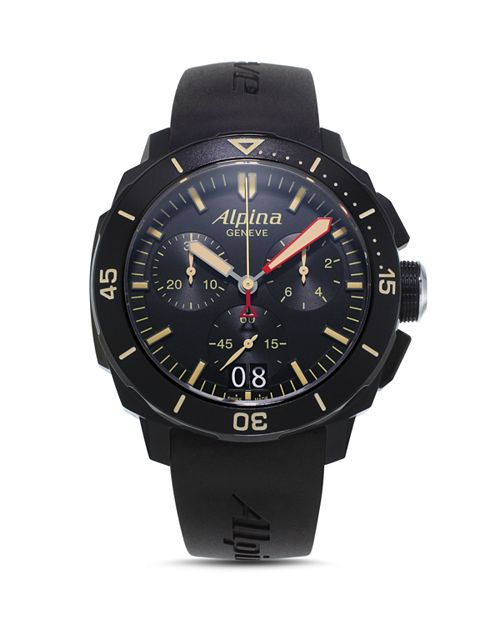 Alpina - Seastrong Diver 300 Quartz Chronograph, 43.5mm