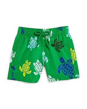 Vilebrequin Boys Jim Multicolor Turtles Swim Trunks
