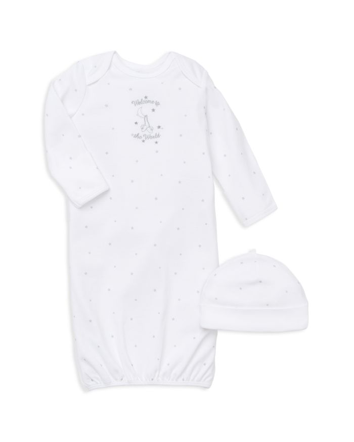 Little Me Unisex Welcome to the World Gown & Hat Set - Baby  | Bloomingdale's