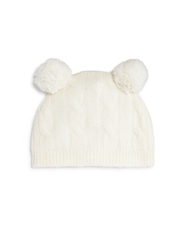 Bloomie's - Unisex Cashmere Double Pom-Pom Hat, Baby - 100% Exclusive