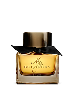 Introducing My Burberry Black, a new fragrance with the same codes of craftsmanship, innovation and appreciation of Burberry\\\'s iconic heritage trench coat. An exciting floral oriental fragrance returns you to a London garden admist a gathering storm. Notes of jasmine flower, sweet and sensual candied rose and peach nectar.