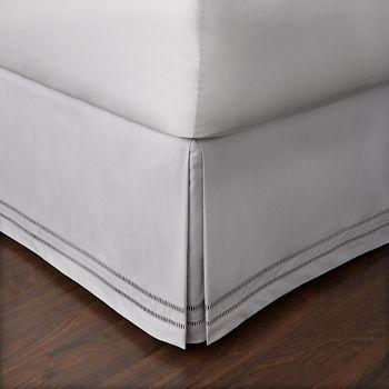 Hudson Park Collection - Ladder Hemstitch Bedskirt, California King - 100% Exclusive