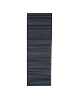 """Chilewich - Stripe Shag Floor Runner, 24"""" x 72"""""""