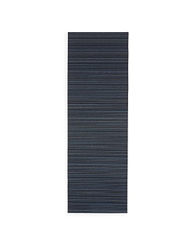 "Chilewich - Stripe Shag Floor Runner, 24"" x 72"""