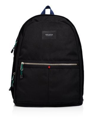 Kent Williamsburg Backpack in Black/Silver